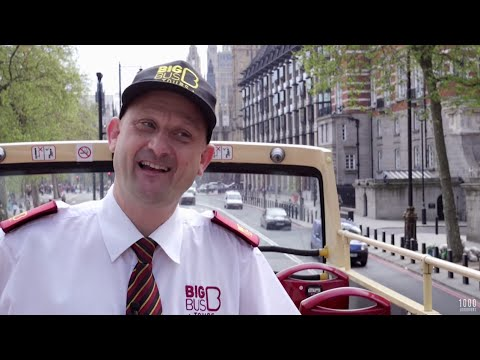 Londoner #157 Phil, a bus tour guide in central London