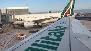 Alitalia 592 - FCO-BEG A320 Economy