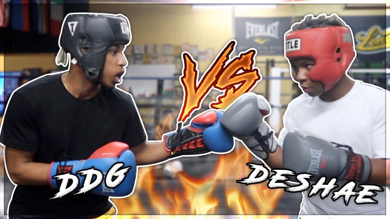 DESHAE FROST VS DDG * FULL BOXING MATCH * #DESHAEFROSTVSDDG (DESHAE CORNER) + video