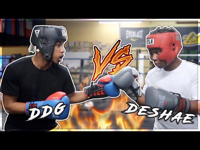 DESHAE FROST VS DDG *FULL BOXING MATCH* #DESHAEFROSTVSDDG (DESHAE CORNER)