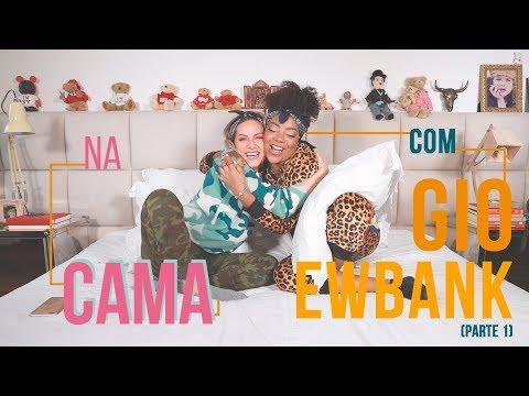 NA CAMA COM GIO EWBANK E LUDMILLA  1  GIOH