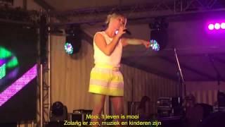 Laura Lynn - Mooi, Het Leven Is Mooi (Ondertiteld)