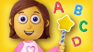 ABC Song | Learn A to Z | Nursery Rhymes | Polly Olly