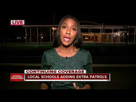 Local schools and students react to the south Florida school shooting
