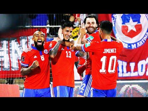 CHILE 3 - 0 VENEZUELA | Clasificatorias Qatar 2022 | RESUMEN Y GOLES