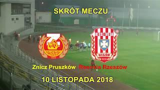 SKRÓT MECZU: Znicz Pruszków - Resovia Rzeszów