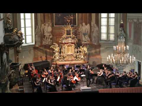 Symphony  No. 33 3rd & 4th, Mozart, Colburn Youth Orchestra Europe Tour 6/26/2016