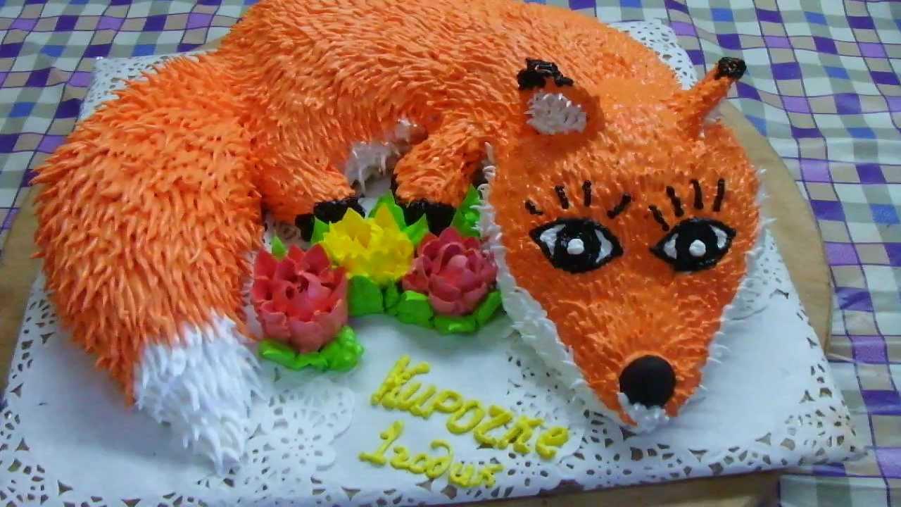 торт лисичка рецепт