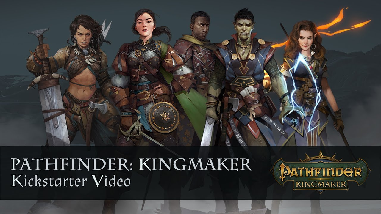 Pathfinder: Kingmaker Kickstarter Video