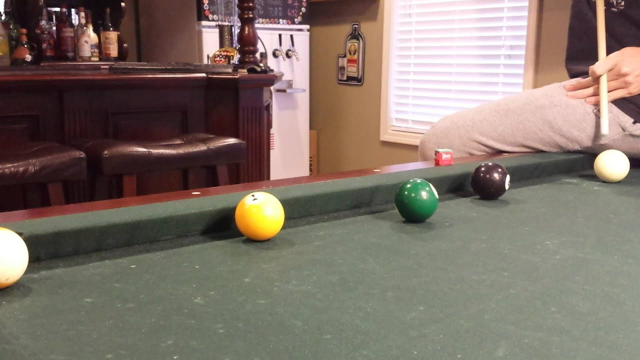 Masse Pool Shot YouTube - Masse pool table