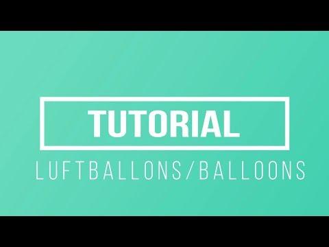 Tutorial/Watch me Craft ♥Herz,Heart Luftballons,Balloons ♥ UV-Resin/Harz