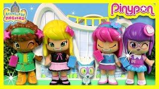 Las AMIGAS PINY Lilith, Julia, Michelle y Tasha van a clase en PINY INSTITUTE of NY* Vídeos PINYPON