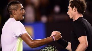 Andy Murray v Nick Kyrgios highlights (QF) - Australian Open 2015