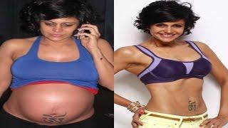 Mandira Bedi Post Pregnancy Weight Loss