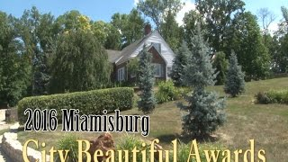 2016 Miamisburg Beautification Awards