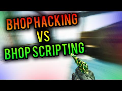 BHOP SCRIPTING VS BHOP HACKING!