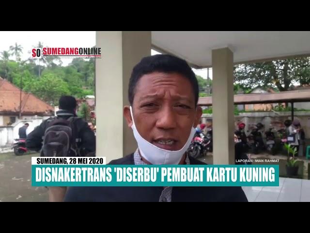 Kantor Disnakertrans Sumedang Kembali 'Diserbu' Calon Naker Anyar