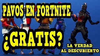 *TIP* FREE PAVOS IN FORTNITE? I TELL YOU ALL THE TRUTH😉