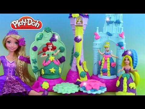 Pâte à modeler Play Doh Royal Palace Château de Crystal des Princesses Palais Royal