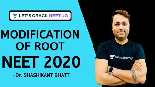 Modification of Root | Botany | Biology | Target NEET 2020 | Dr. Shashikant Bhatt