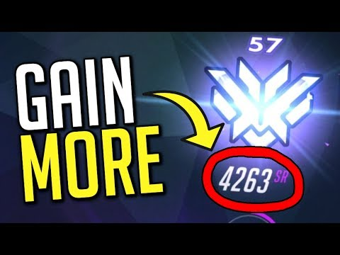 Gain MORE SR Per Win! Trick The System! | Overwatch Guide