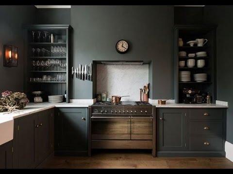 Moody Dark Kitchen Décor Ideas