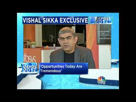 #Davos2017: Infosys CEO Vishal Sikka Speaks To CNBC-TV18