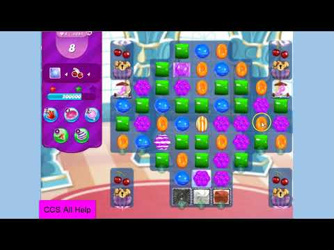 Candy Crush Saga Level 4691 NO BOOSTERS Cookie