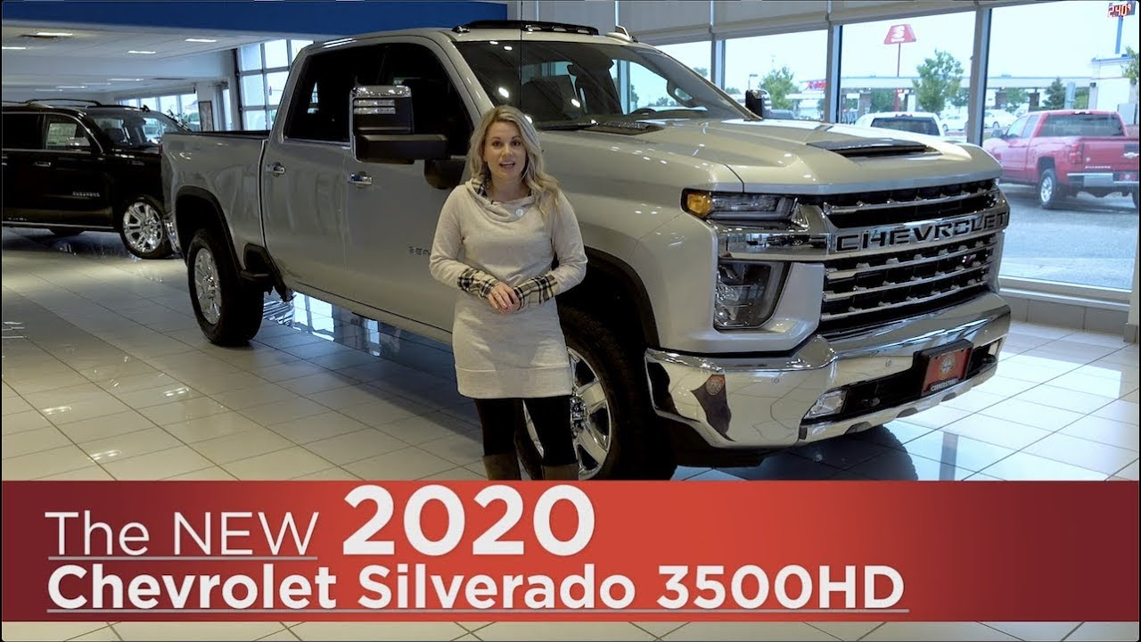 All-New 2020 Chevrolet Silverado 3500HD | Mpls, St Cloud ...
