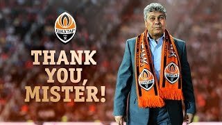 Mircea Lucescu's 12 years at Shakhtar. Thank you, Mister!