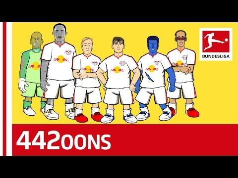 Bundesliga Cribs RB Leipzig - Superhero Parody Powered By 442oons