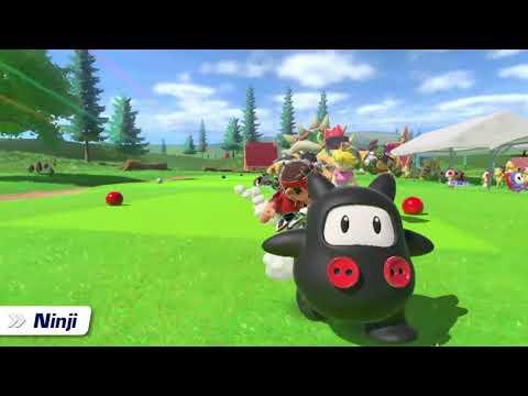 Ninji in Mario Golf: Super Rush (Nintendo Direct)