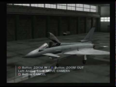 (Plane Roster) Ace Combat 4 : Shattered Skies