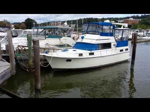 36' CARVER MY 1985 by Robert Christopher Yacht Sales