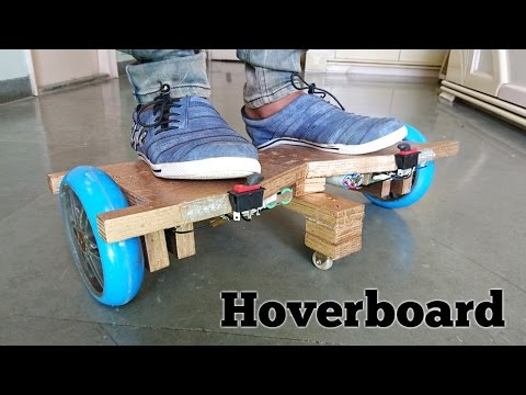 Thumbnail: How to Make a Hoverboard at Home