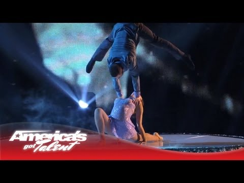 Duo Resonance - Graceful Acrobatic Balancing Act - America's Got Talent 2013