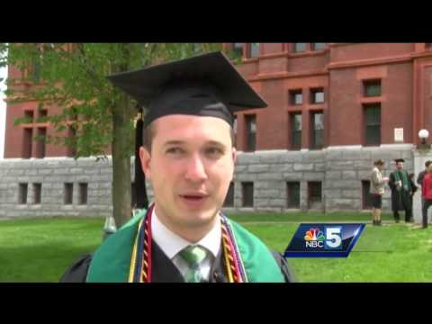 UVM grads get advice from journalist, Vermont governor