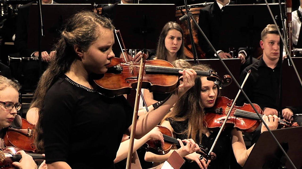 Jules Massenet – The Méditation from Thaïs, Julia Iskrzycka – violin, conducted by Andrzej Kucybała