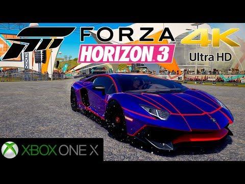FORZA HORIZON 3 - MAJ 4K sur Xbox One X
