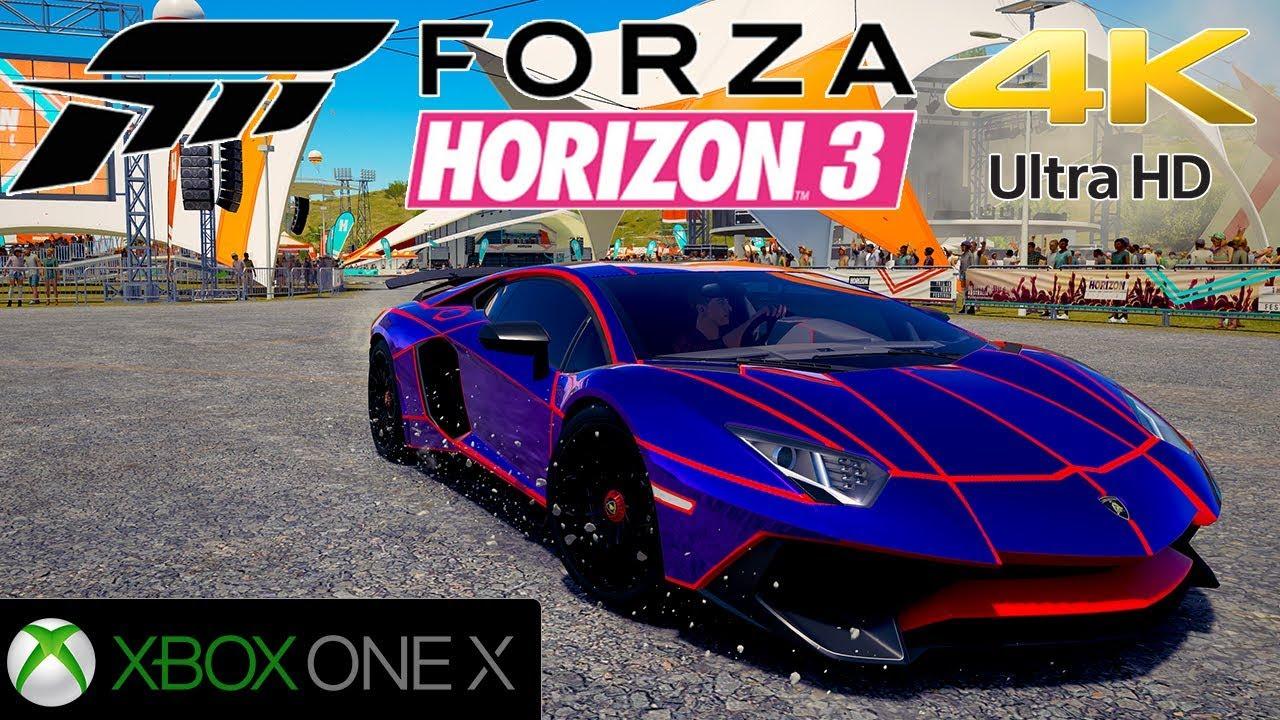 Forza horizon 3 maj 4k sur xbox one x youtube - Is forza horizon 3 4k ...