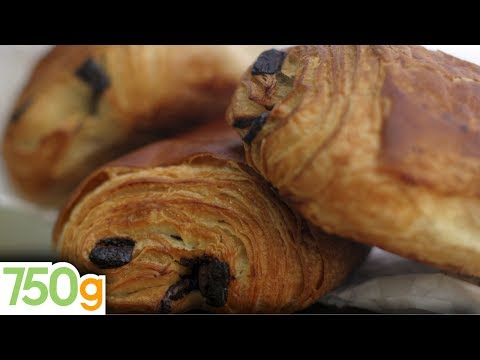 Recette des Pains au chocolat ou Chocolatine - 750 Grammes