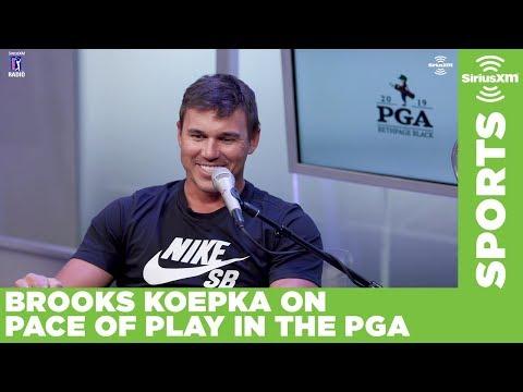 Brooks Koepka went soft on slow-playing J.B. Holmes