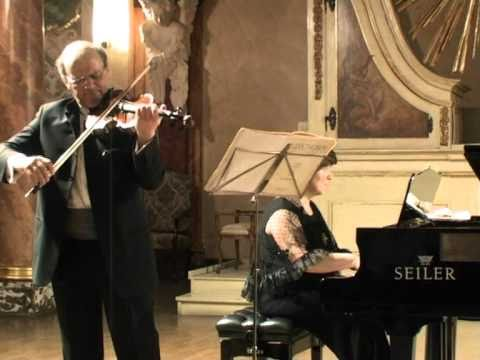 Michael Vaiman and Dina Yoffe play Franck Sonata for Violin and Piano