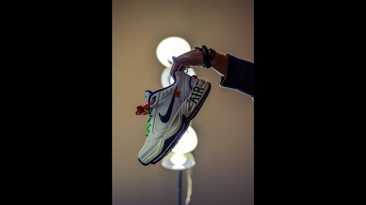 Off-White TM x Nike x Air Monarch Collab (Custom) - YouTube cbcb86836