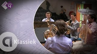 Bach: Toccata, Adagio and Fugue in C Major, BWV 564 - Amsterdam Brass Quintet - Live concert HD