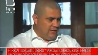Alias BamBam denuncia al exfiscal Luis Camilo Osorio Isaza y al expresidente Uribe