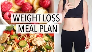 WHAT I EAT IN A DAY | WEIGHT LOSS MEAL PLAN FOR WOMEN