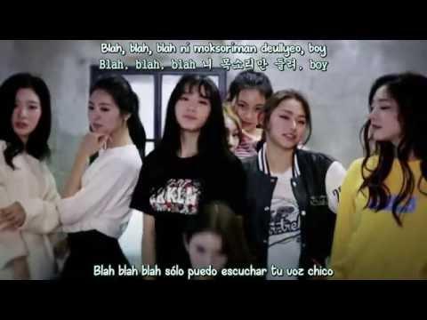 I.O.I - Crush MV (Sub Español - Hangul - Roma) HD