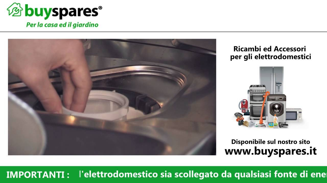 Come rimuovere i filtri da una lavastoviglie  YouTube