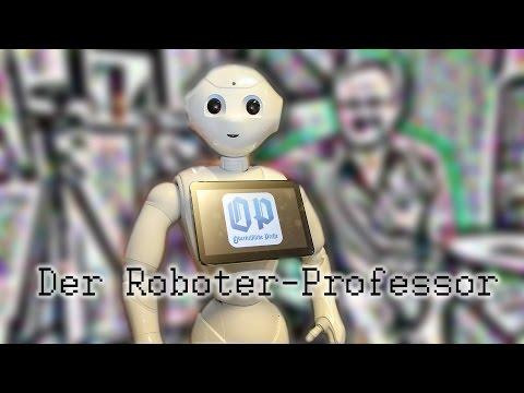 Sprechstunde beim Roboter-Professor